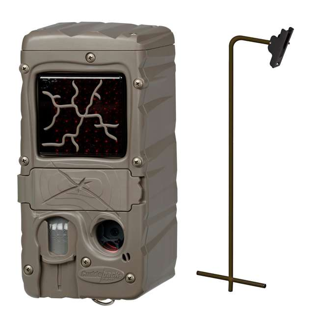 CL-DUAL-FLASH + CUDDEPOST Cuddeback Dual Flash Cuddelink Infrared Game Camera with Genius Post Mount