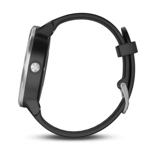 010-01769-01 Garmin Vívoactive 3 Active Smartwatch, Black with Silver 1