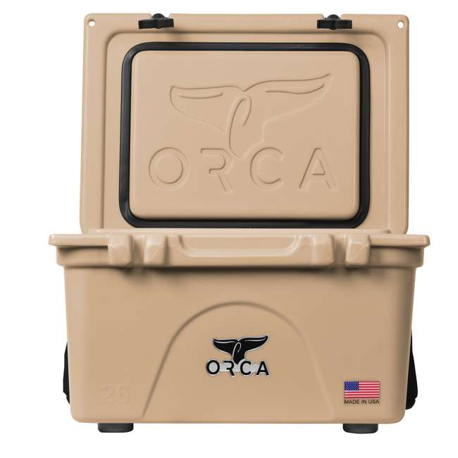 ORCT026 ORCA 26-Quart 6.5-Gallon Ice Cooler, Tan 4