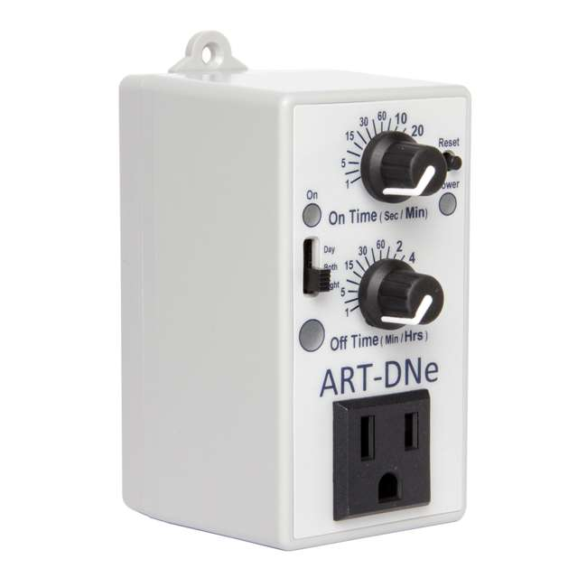 ART-DNE-U-A C.A.P. ART-DNE Hydroponic Day/Night Adjustable Recycle Timer Controller - Open B