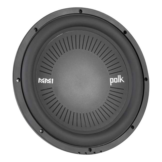 "MM1242-DVC Polk MM1 Series 12"" 1260W 4 Ohm Dual Voice Coil ATV, Car, & Marine Subwoofer"