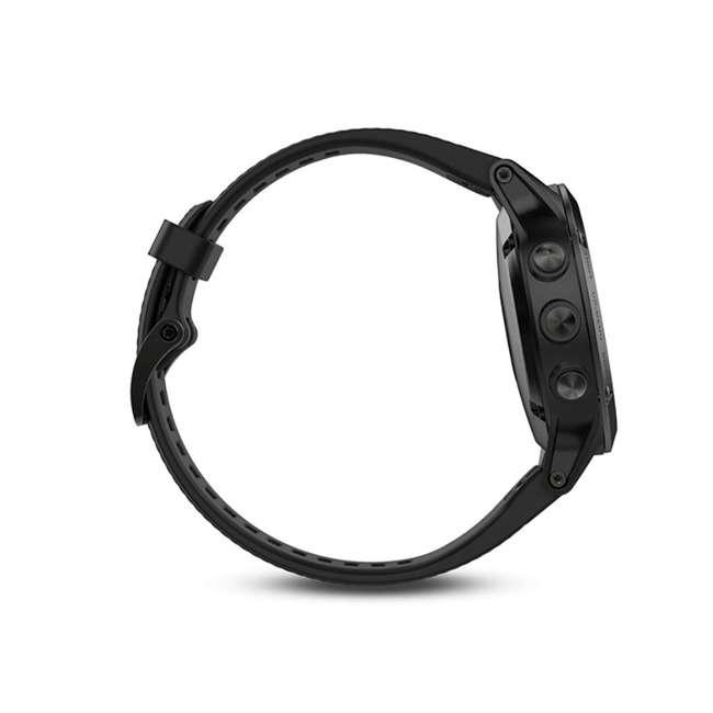 010-01688-10 Garmin Fenix 5 Multi-Sport 64 MB Smart Watch, Black 4