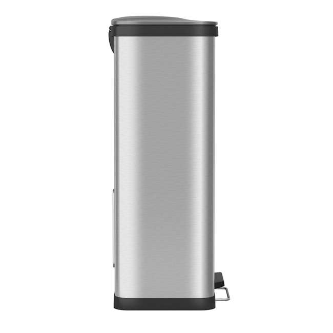 PC18SN iTouchless 18 Gallon Step Trash Can with AirStep Pedal and Built-In Deodorizer 5