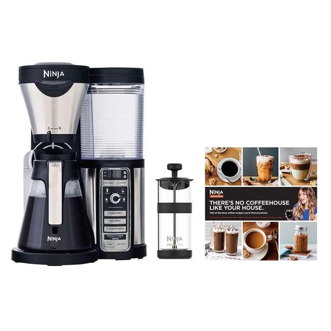 CF080REF_EGB-RB + CBCF090 Ninja CF080 Coffee Maker & Coffee Bar Recipe Guide (Certified Refurbished)