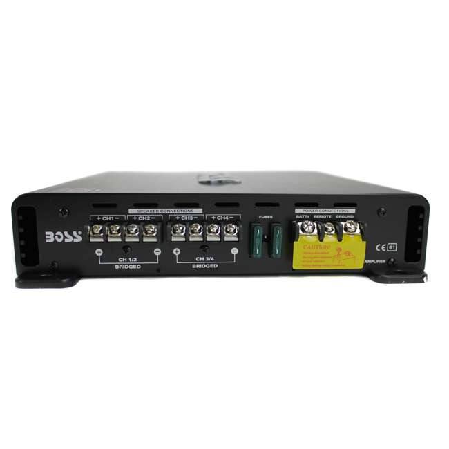 3 x R3004-Boss Boss Audio R3004 1200W 4 Channel Amplifier with Remote (3 Pack) 3
