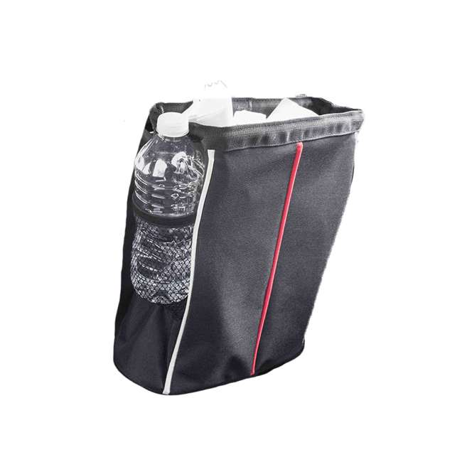 CS49080-U-A Home Basics Over the Seat Hanging Vehicle Litter Garbage Holder Bag (Open Box)