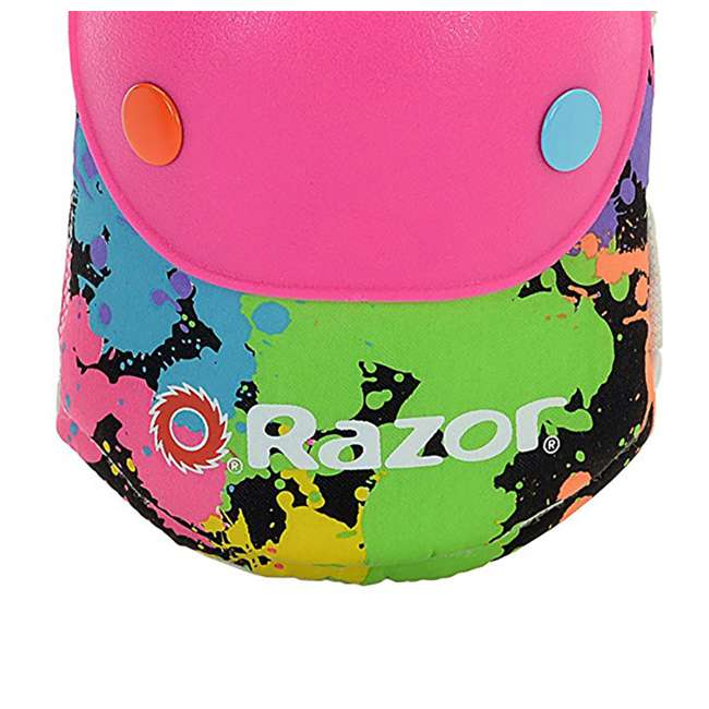 96761 Razor Splatter Ages 5-8 Children's Knee & Elbow Pad Set (2 Pack) 4