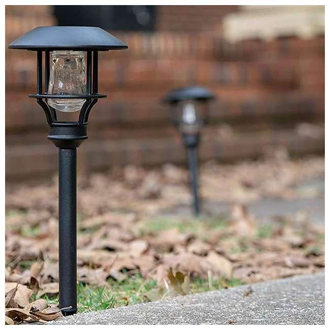 MR-90042 Moonrays Solar LED Garden Sidewalk Path Lights (4 Pack) 4