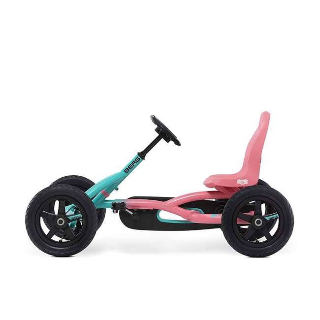 24.20.64.00 Berg Toys Buddy Lua Pedal Powered Kids Go Kart Toy, Pink and Mint 1