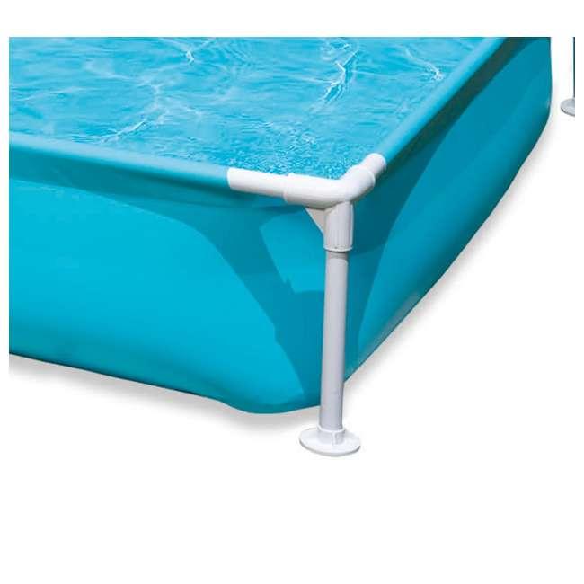 "57173EP-U-B Intex Mini Frame Kids 48x48x12"" Beginner Kiddie Swimming Pool | 57173EP (Used) 2"