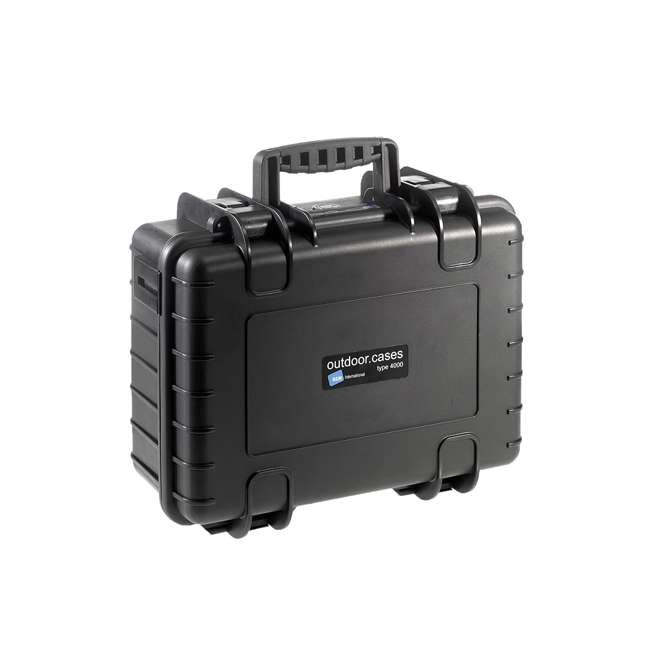 4000/B/SI B&W International 4000/B/SI Hard Plastic Outdoor Case with Removable SI Insert