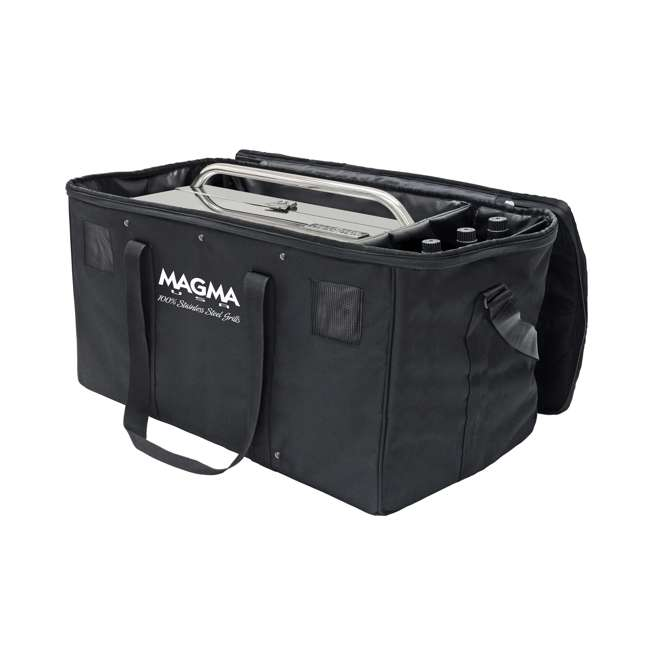 A10-1292 Magma A10-1292 Padded 12 x 18 Inch Rectangular Grill Gear Carrying Case, Black 1