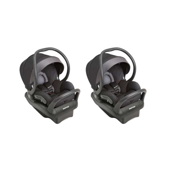 IC160BIZ Maxi-Cosi Mico Max 30 Infant Car Seat, Devoted Black (2 Pack)