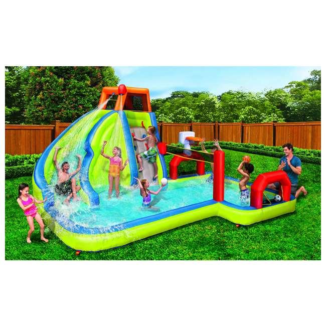 BAN-90350 Banzai Aqua Sports Kids Inflatable Water Park Play Center 1