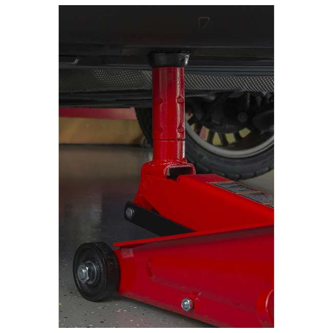 TOR-T83006 + TOR-T43002A Torin 3 Ton Trolley Service Jack Torin & 3 Ton Double Locking Jack Stands, Pair 3