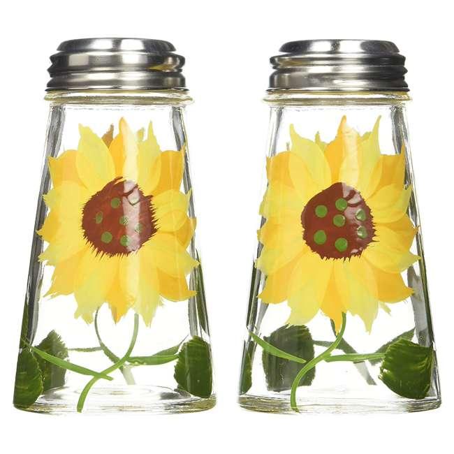 GH-39013 Grant Howard Sunflower Salt and Pepper Shaker Set