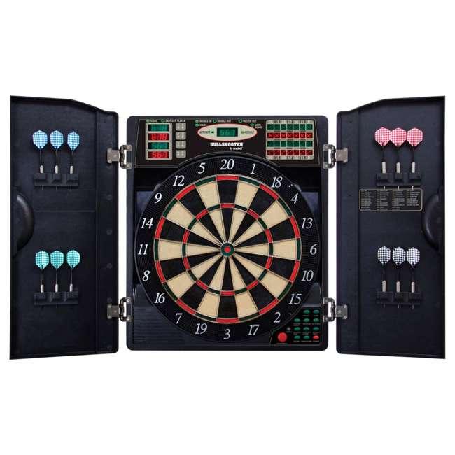 EBR1000 Arachnid EBR1000 E-Bristle 1000 LED Electronic Scoring Dartboard Cabinet Set
