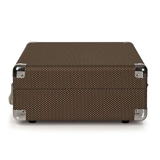CR8005D-TW Crosley Cruiser Deluxe Portable Bluetooth Turntable, Tweed 4