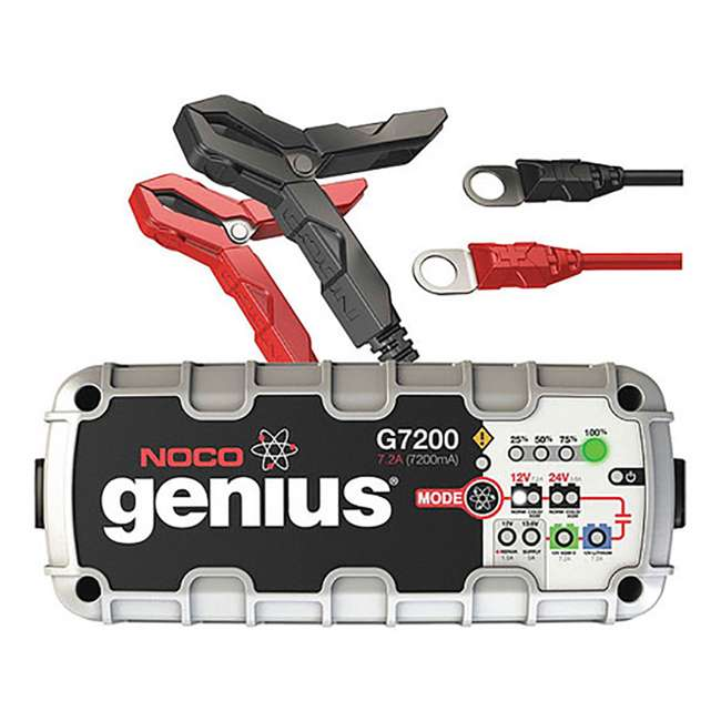 G7200 Noco Genius 7.2 Amp UltraSafe Battery Charger and Maintainer 2