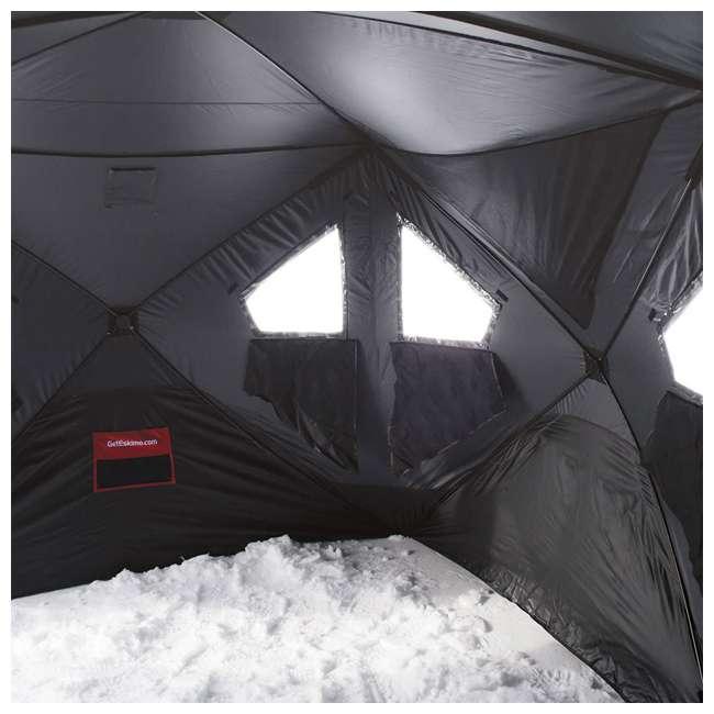 ESK-FF9416-U-B Eskimo FatFish Portable 7-9 Person Pop Up Ice Fishing Shanty Shelter Hut (Used) 3