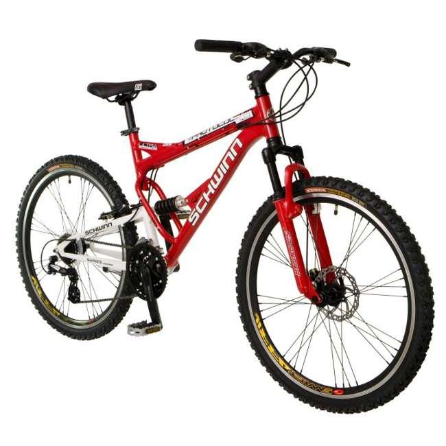 "S2756 Schwinn Protocol 1.0 Mountain Bike (26"" Red)  1"