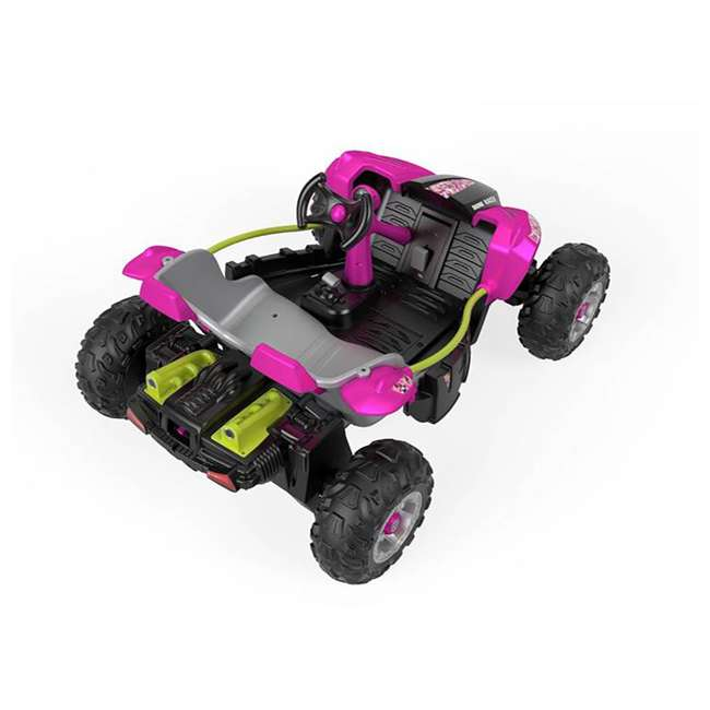 FLP27 + 74777 Power Wheels Battery Toy Car w/ Extra 12 Volt Rechargable Replacement Battery 3