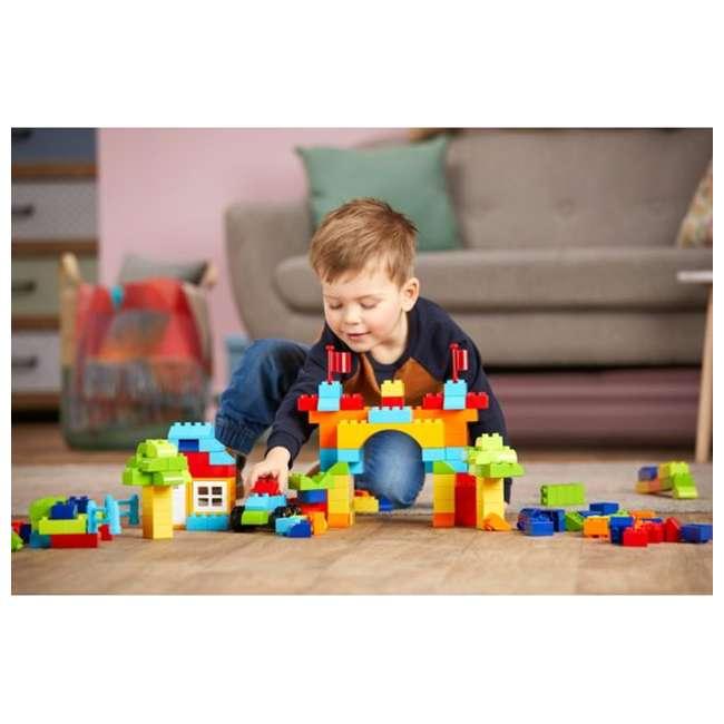 GJD22 Mega Bloks GJD22 Junior Builder Mini Bulk Tub 180 Piece Large Block Building Set 2