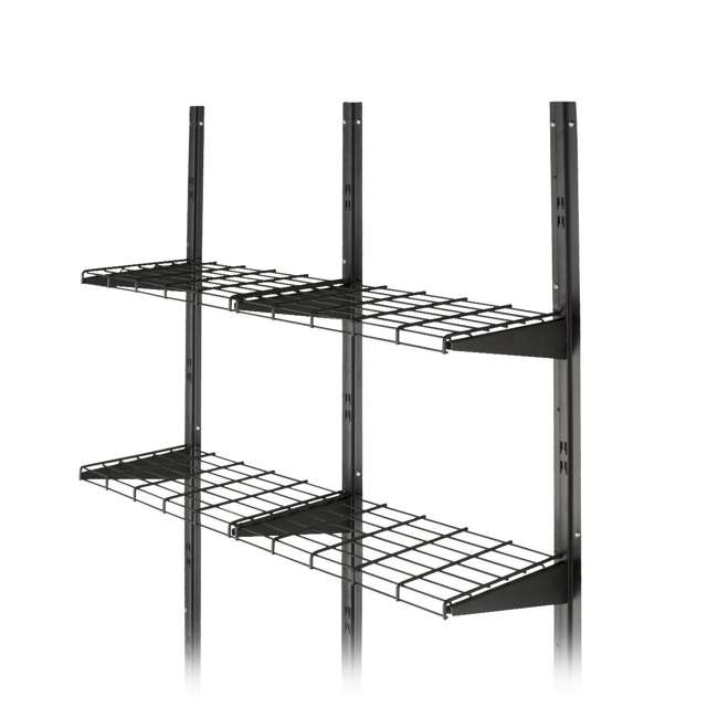 BMSA1S Suncast BMSA1S Versatile Heavy-Duty Wire Shed Storage Tier Shelf Storage Kit