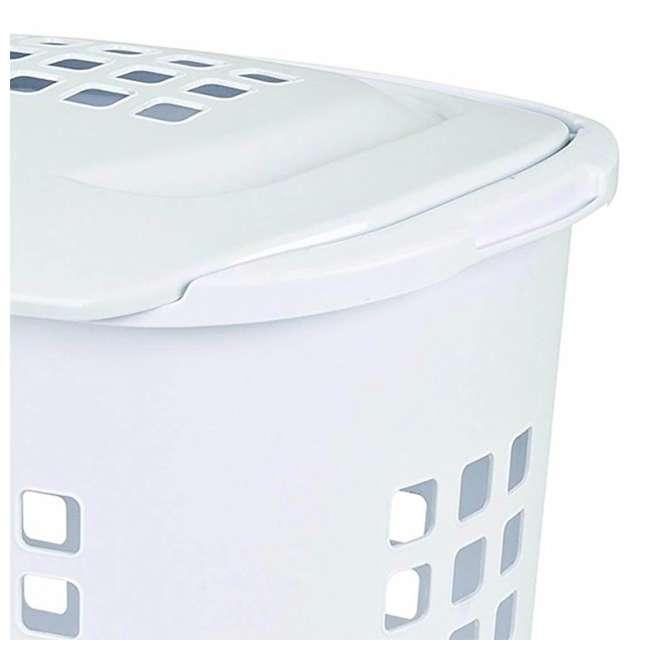 12218004-U-A Sterilite 2.3 Bushell 81 Liter Lift Top XL Laundry Basket Hamper (Open Box) 2