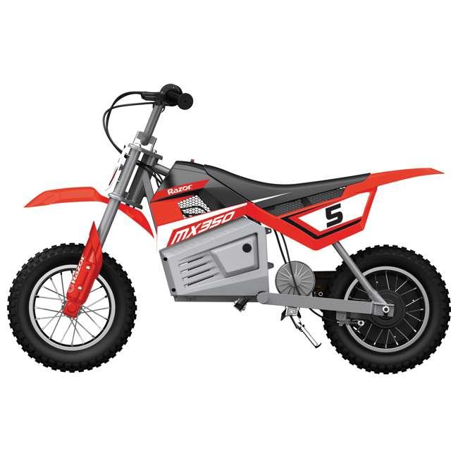 15128095 Razor MX350 Dirt Rocket Kids Electric Motorcycle, Red 1