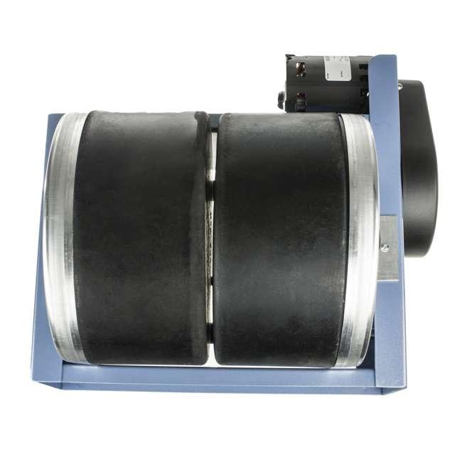 1-0614 Lortone 006-092 QT66 Twin Barrel 12 Pound Hobby Rotary Rock Polisher Tumbler 2