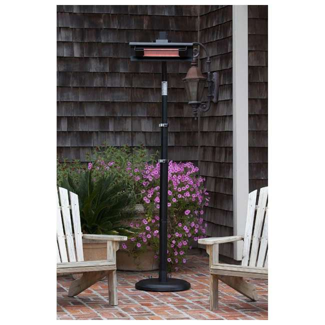 02678 Fire Sense Telescoping Pole Mounted Infrared Patio Heater 1