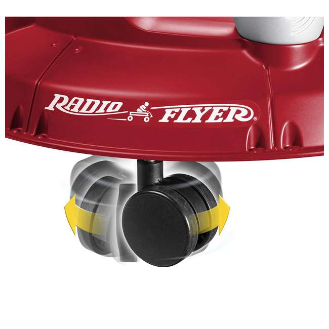 S635 Radio Flyer Spin N Saucer Toy for Ages 1 to 5, Red 2