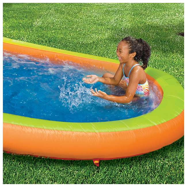 BAN-90354-U-A Banzai Kids Inflatable Outdoor Lazy River Adventure Water Park (Open Box) 3