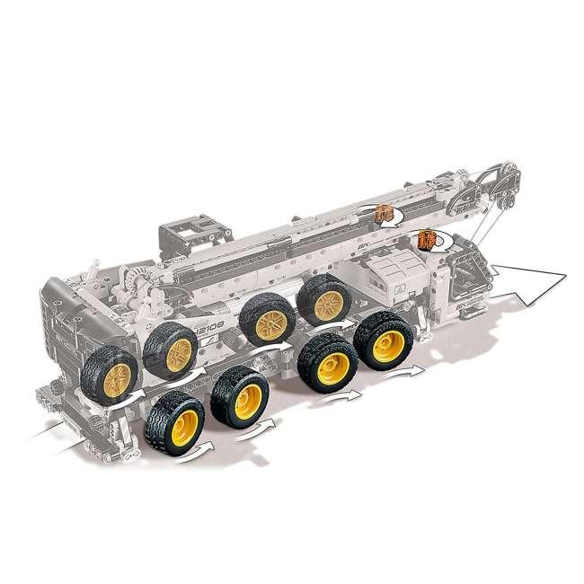 6288778 LEGO Technic 42108 Mobile Construction Crane Vehicle 1292 Piece Building Set 4