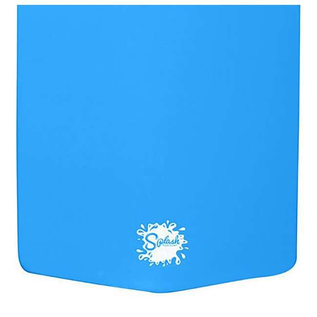 8080218 + 8032026 + 8032035 TRC Recreation PVC Drying Rack, Bronze w/ TRC Recreation Pool Loungers 4