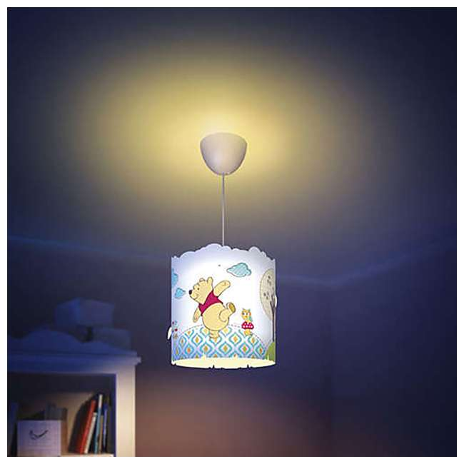 PLC-7175134U0 2) Philips Disney Winnie the Pooh Suspension Light Lampshade  4