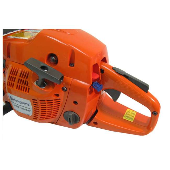 HV-CS-966048320 + HV-TOY-522771104 Husqvarna 460 20-Inch 3.62 HP Gas-Powered Chainsaw | 440 Toy Kids Chainsaw 7