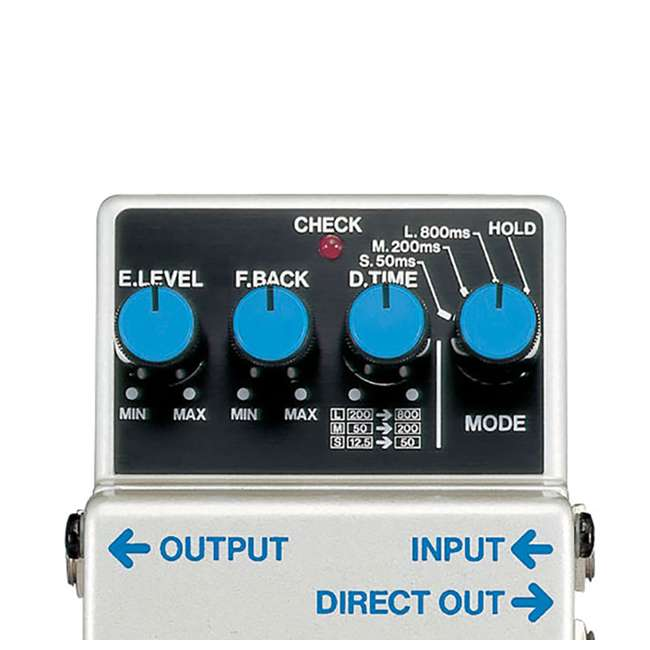 4 x DD-3 Boss DD-3 Digital Delay Effects Guitar & Bass Pedal (4 Pack) 3