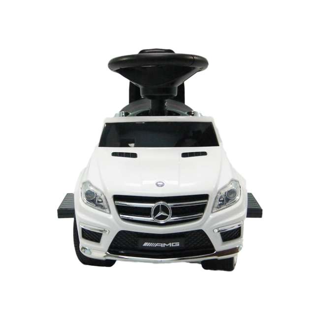 4 in 1 Mercedes Push Car White Best Ride On Cars Baby 4 in 1 Mercedes Push Vehicle, Stroller, & Rocker, White 5