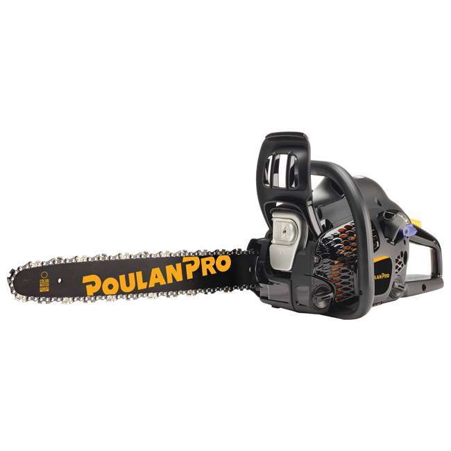 "4 x PL-967063802-ARC-RB Poulan Pro 18"" Bar 2 Cycle Gas Powered Chainsaw (Certified Refurbished) (4 Pack) 1"