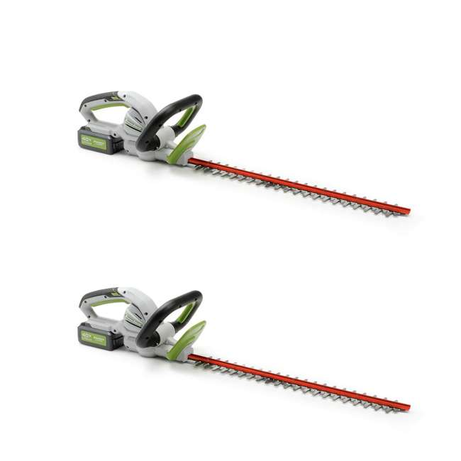 PHT140 Powersmith 40-Volt Max Cordless Hedge Trimmer (2 Pack)