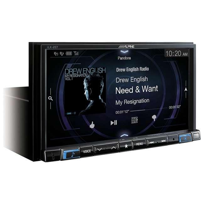 iLX-207 Alpine 7-Inch In-Dash Wireless Apple CarPlay & Android Auto Receiver