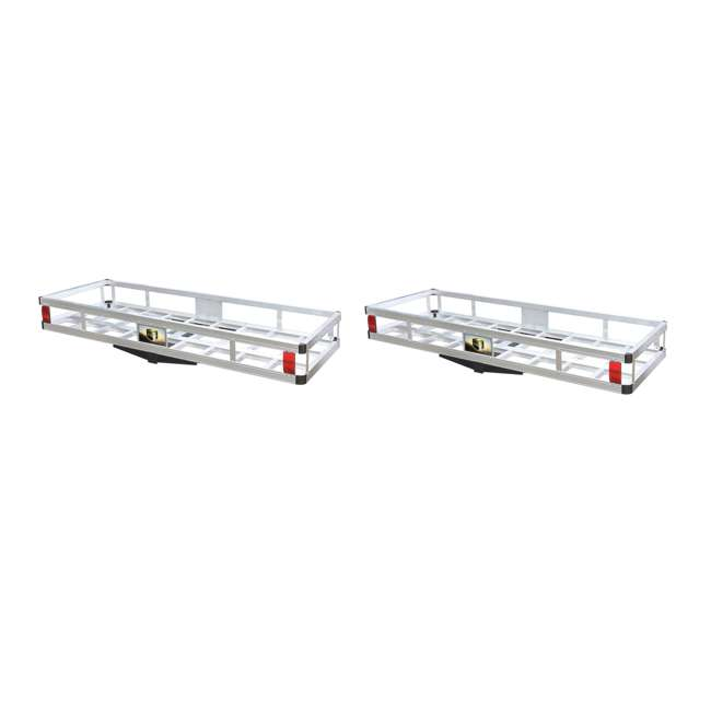TOW-TTF-2260A Tow Tuff 60-Pound 500-Pound Aluminum Cargo Carrier (2 Pack)