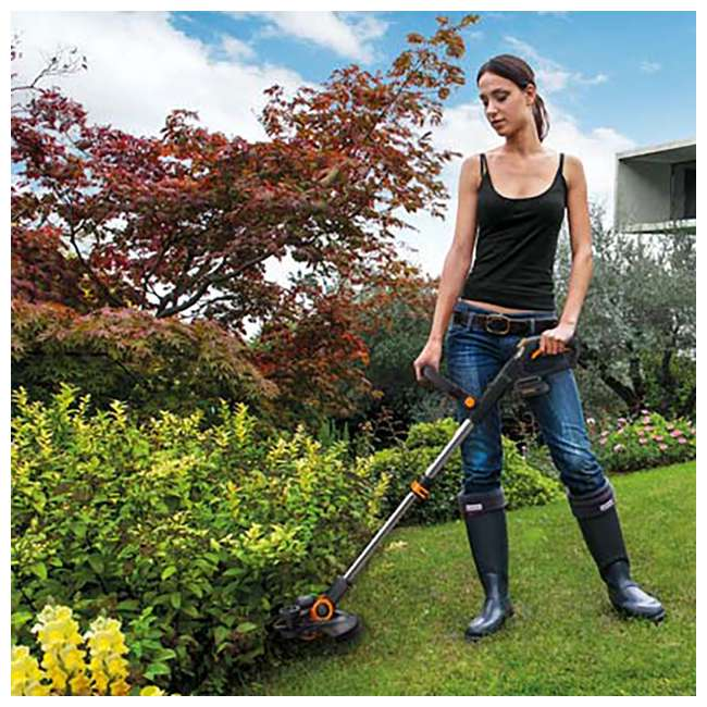 WG163.9 Worx WG163.9 12-Inch 20-Volt Lithium-Ion Trimmer & Edger (Tool Only) 3