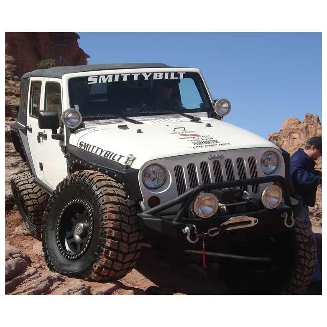 76880-SMITTYBILT Smittybilt XRC Front Fender Armor for Jeep Wrangler, Rubicon & Unlimited 4