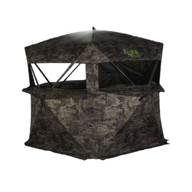 R150BC-RTT Rhino Blinds R150BC-RTT Bone Collector RealTree Timber 3 Person Hunting Blind 1
