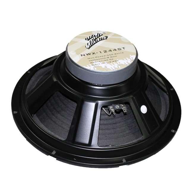 NWX1244ST Zebra NWX-1244ST 12-Inch 350W DJ/Home Subwoofer 8 Ohm (Pair) 3