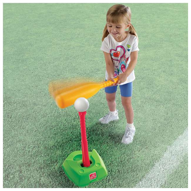 844300-U-A Step2 Toddler 2-in-1 T-Ball and Golf Indoor/Outdoor Sports Play Set (Open Box) 6