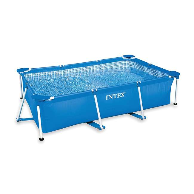 28271EH-U-A Intex 8.5x5.3x2.13 Rectangular Above Ground Backyard Pool (Open Box) (2 Pack)